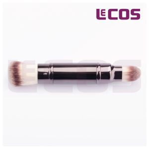 Retractable Double-end Powder Brush For Face Foundation